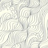 Waves abstract background Royalty Free Stock Photos