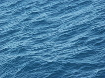 Waves on Adriatic see. From a ship royalty free stock images