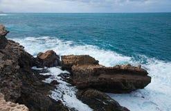 Waves at Ajuy Stock Photo