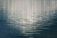 Waves on Alpine Lake Stock Image