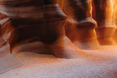 Waves in Antelope Canyon Royalty Free Stock Photography