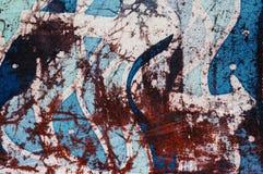 Waves and arrows, hot batik, background texture, handmade on silk, abstract surrealism art stock photos
