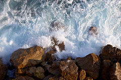 Waves ashore Royalty Free Stock Image