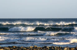 Waves at the atlantic ocean Stock Images