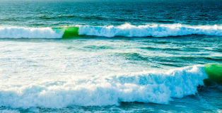 Waves of Atlantic Ocean Royalty Free Stock Photo