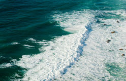 Waves of the Atlantic Ocean Stock Photography