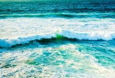 Waves of the Atlantic Ocean Royalty Free Stock Image