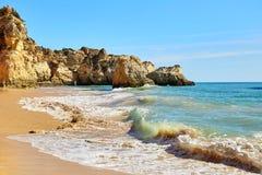 Waves of Atlantic Ocean Stock Photography