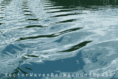 Waves back Stock Photography