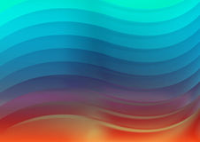 Waves background vector illustration