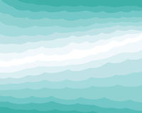 Waves background Royalty Free Stock Images