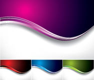 Waves backgrounds Stock Images