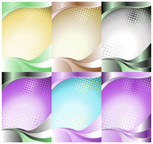 Waves backgrounds Royalty Free Stock Photos
