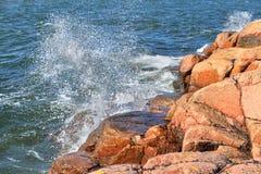 Waves of Baltic Sea Royalty Free Stock Photos