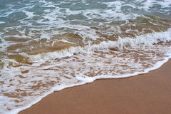 Waves at the Beach Royalty Free Stock Photos