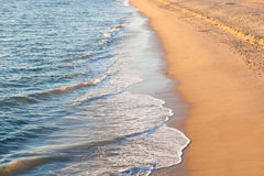 Waves on the Beach Stock Image