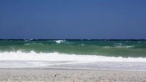 Waves on beach Royalty Free Stock Photo