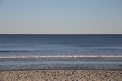 Waves on Beach. Waves crashing on to the beach Royalty Free Stock Photos