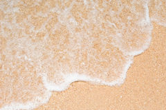 Waves On The Beach at pattaya,Thailand Royalty Free Stock Photography