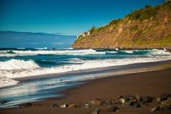 Waves on the beach Playa El Socorro Royalty Free Stock Photos