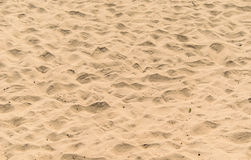Waves of beach sand background Stock Photography