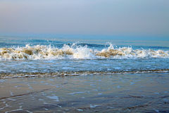 The waves Royalty Free Stock Photos