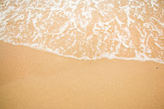 Waves on a beach summer. Stock Images
