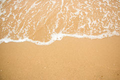 Waves on a beach summer. Stock Photography