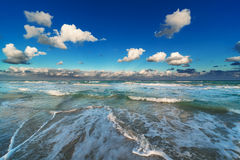 Waves on the beach Royalty Free Stock Images