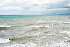 Waves at Black sea Stock Photos