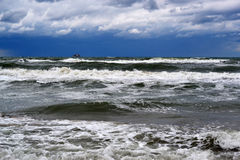 Waves of the Black Sea, Anapa, Krasnodar Krai Stock Photography