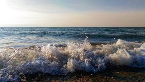 Waves of the Black Sea Royalty Free Stock Photos