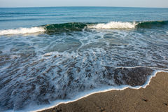 Waves of the Black Sea, Bulgaria Royalty Free Stock Image