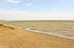 Waves on the Black sea, sea coast royalty free stock image
