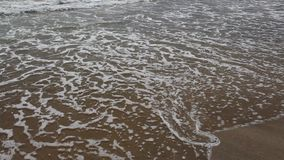 Waves from black sea. Image was shot in Burgas stock video footage