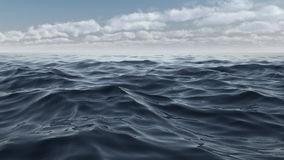 The waves of the blue sea in full hd stock video footage