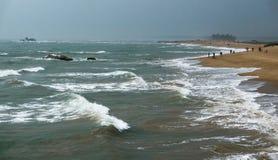 Waves of Boao, Hainan Province, China Stock Photo