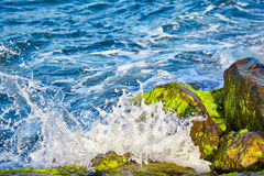 The waves of Bosphorus Stock Images