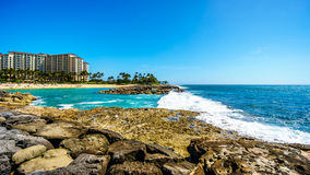 Free Waves Breaking On The Barriers Of The Lagoons At The Resort Community Of Ko Olina Royalty Free Stock Photo - 92736255
