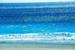 Waves bring out the color of the Boca Raton Beach. The South Florida Coastline offers many fine beaches with Boca Raton ranking high on any list Stock Photos
