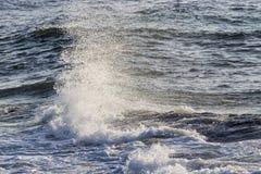 Waves On The California Coastline Stock Photo