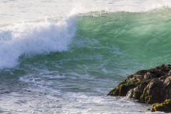 Waves On The California Coastline Royalty Free Stock Photography