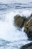 Waves On The California Coastline Royalty Free Stock Photography