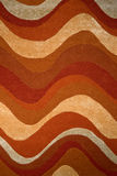 Waves carpet texture Royalty Free Stock Photos