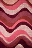 Waves carpet texture Royalty Free Stock Images