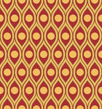 Waves and circles Stock Image