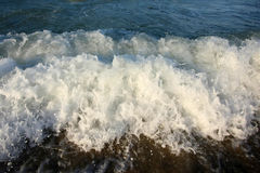 Waves close up Royalty Free Stock Photos