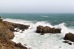 Waves on Coast Stock Photo
