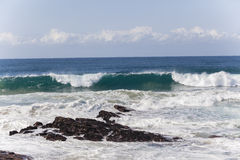 Waves Coastline Rocks Royalty Free Stock Photo