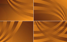 Waves Collection Backgrounds Royalty Free Stock Photography